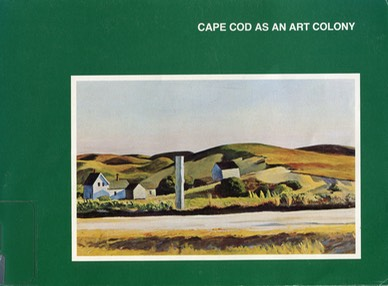 Cape Cod as an Art Colony cover